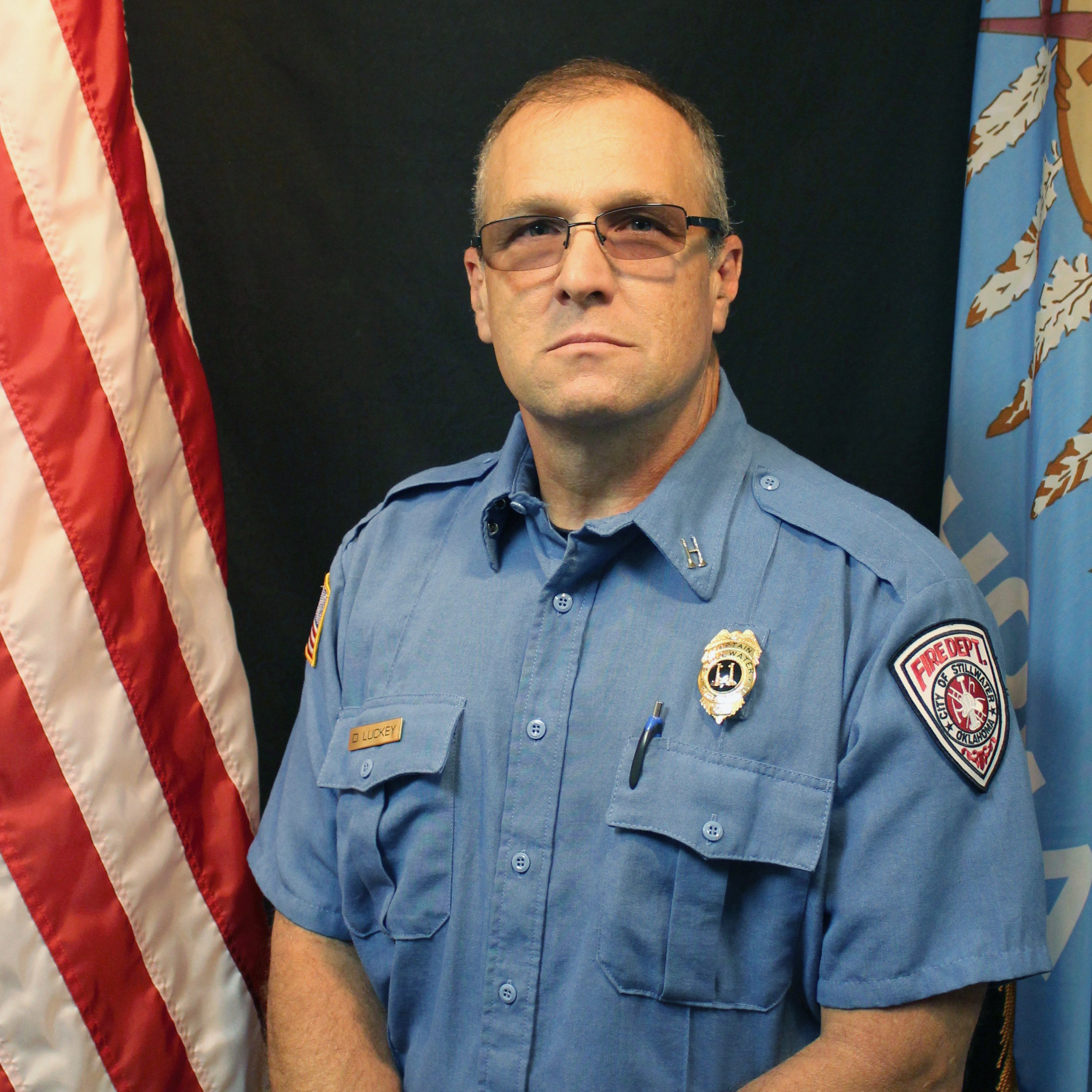 Photo of ?B. Shift Battalion Chief David Luckey