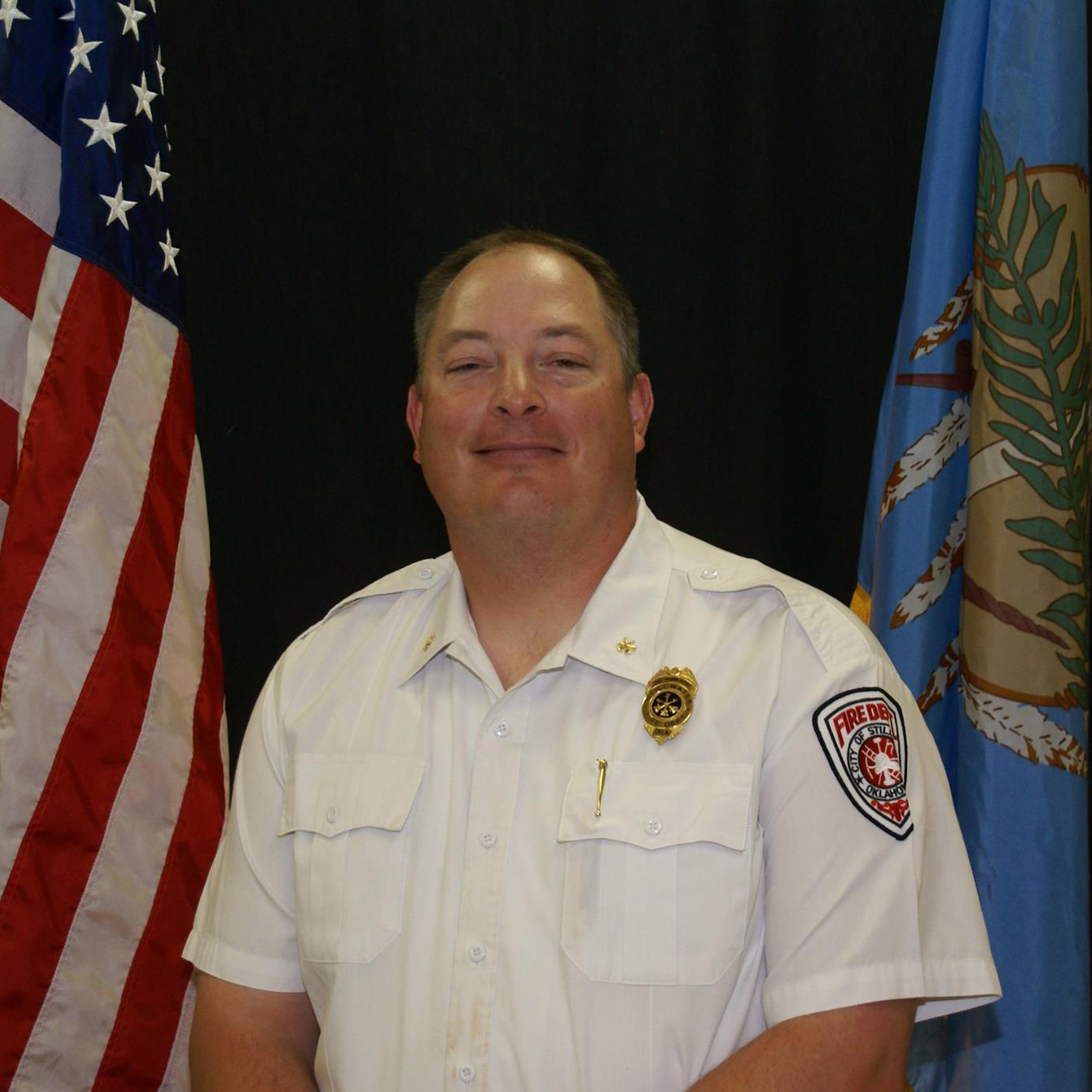 Photo of Assistant Fire Chief Jory Stanley