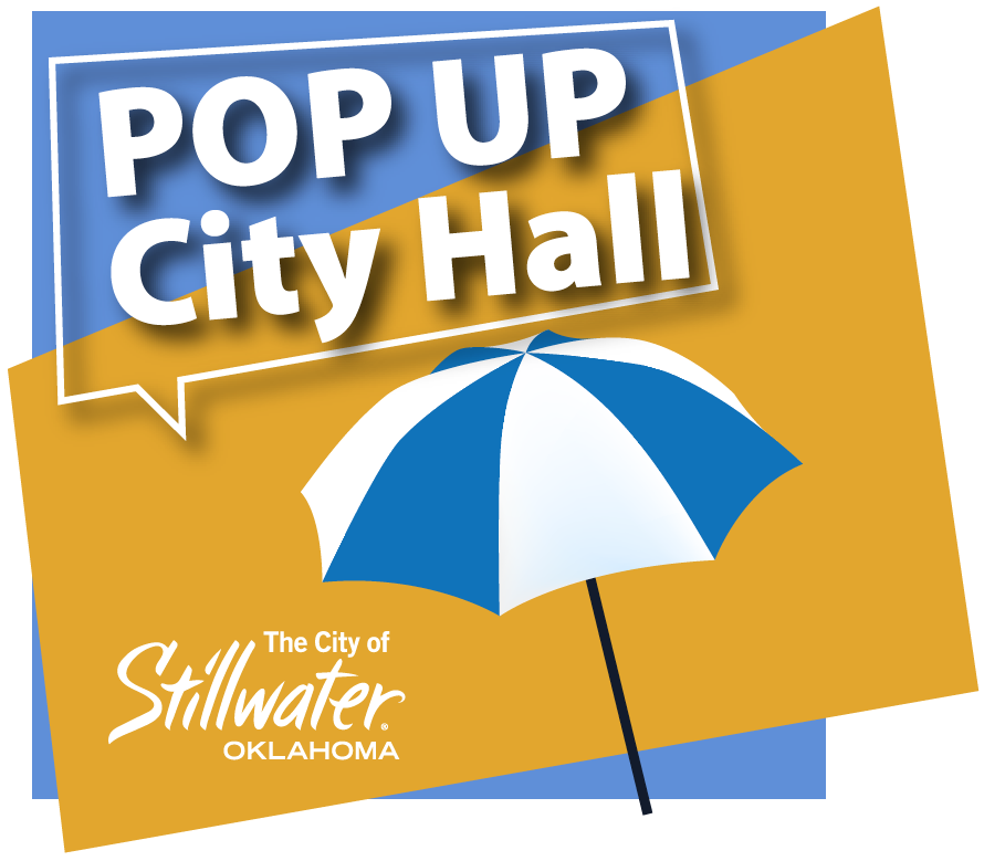 pop up city hall logo